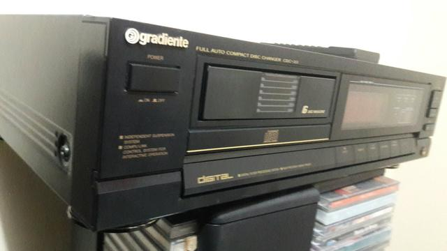 Histórico da gradiente primeiro cd player