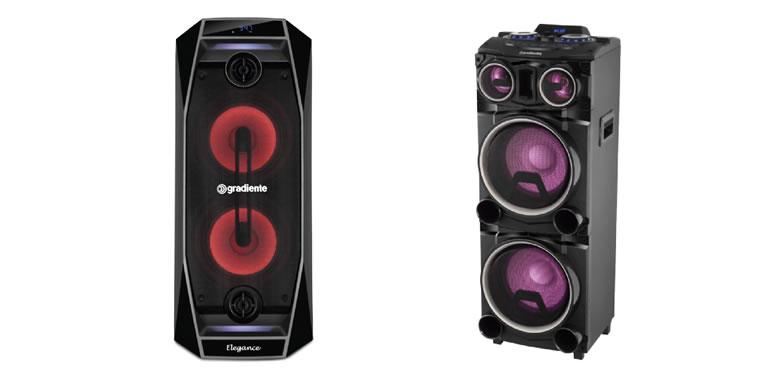 Gradiente lança nova linha de caixas de som amplificadas